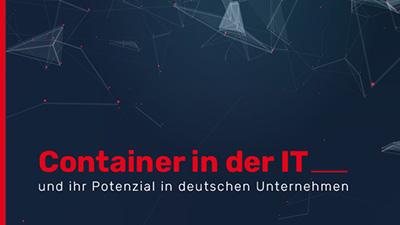 Darstellung des Titel der Studie Container in der IT