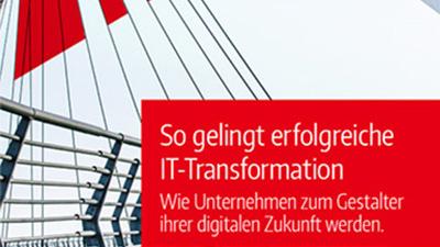 Darstellung des Titels des Whitepapers IT-Transformation