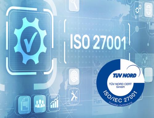 Cronon ist nach ISO 27001 zertifiziert