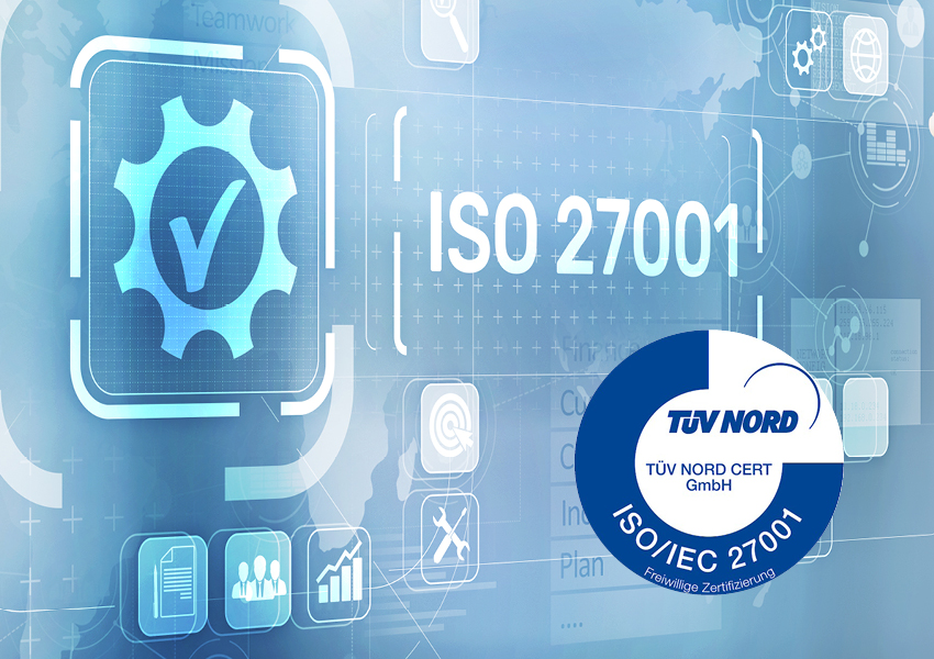 Fotografik Zertifizierung TUV-ISO27001
